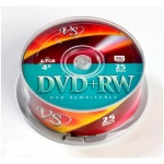 Диски DVD+RW VS Box 25 4x 4.7Gb (25/600)